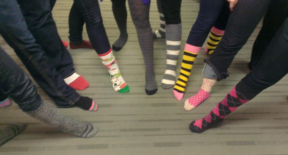 Paradigm PR Fashion Friday - Crazy Sock Fashion