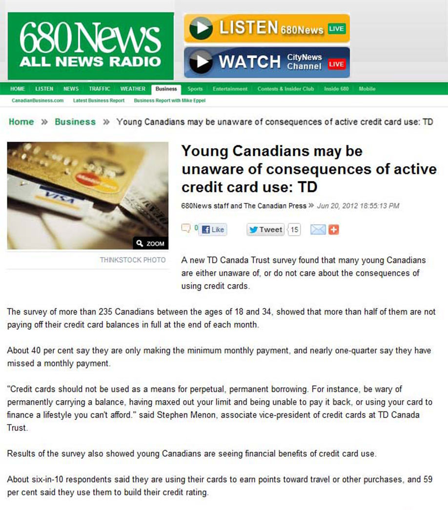 TD Canada Trust Young Canadians