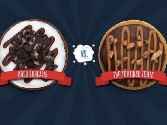 Tim Hortons Duelling Donut