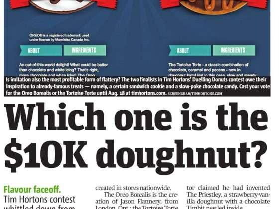 Tim Horton's 10k donut