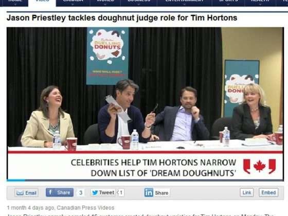 Tim Horton's Yahoo Canada